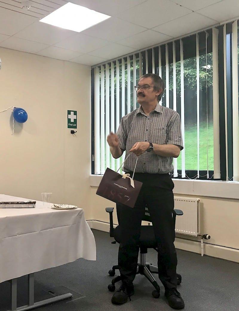 Robert North Retirement Surprise Presentation